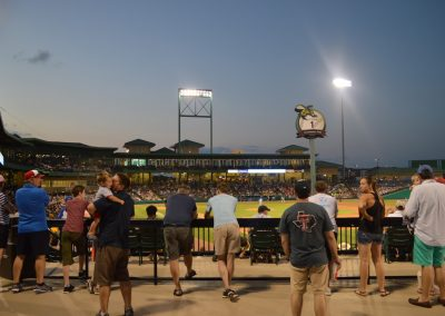 Constellation Field, Fans Looking on