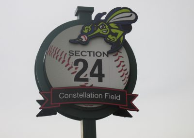 Constellation Field, Sign at Entrance