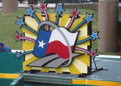 Constellation Field, Texas-themed Display