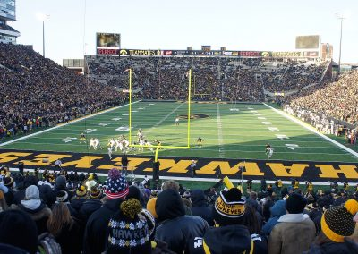 Kinnick Stadium South End View