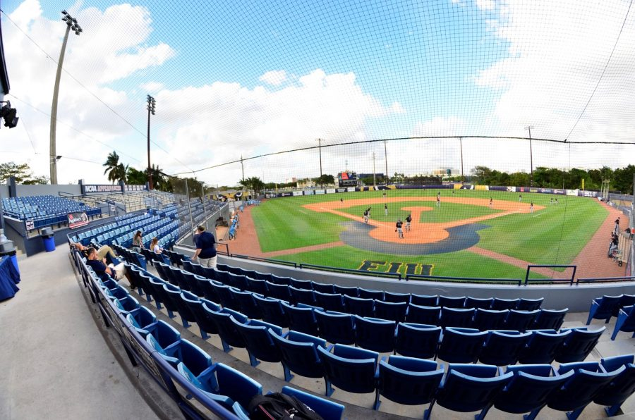 FIU Baseball Stadium, View from Home Plate Seating