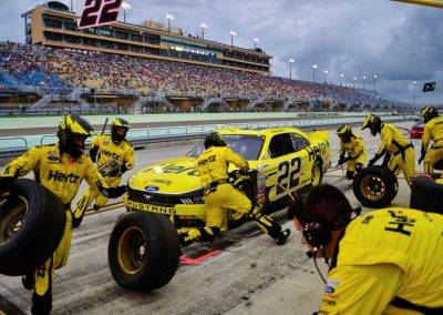 Homestead-Miami Speedway Pit Stops