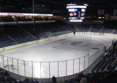 Empty Rink at Tsongas Center