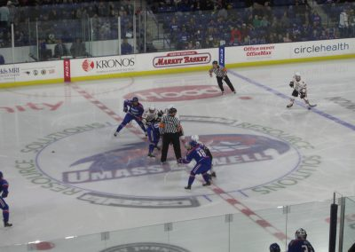 Faceoff at Tsongas Center