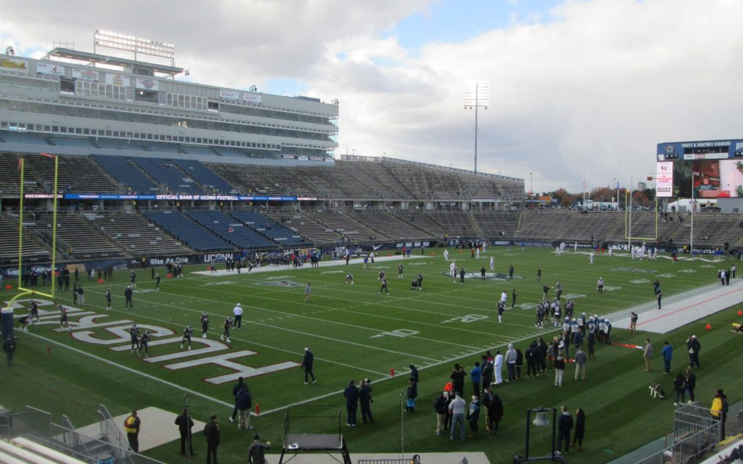 Pratt and Whitney Stadium at Rentschler Field – Connecticut Huskies