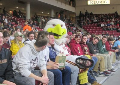 Baldwin In the Conte Forum Student Section