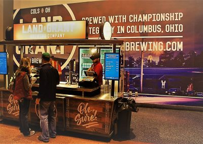 Nationwide Arena Concourse Beer