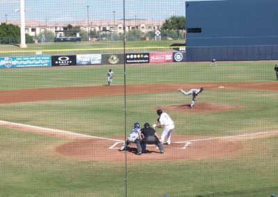 Peoria Sports Complex Stadium Home Plate View