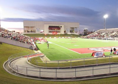 Provost Umphrey Stadium, End Zone View