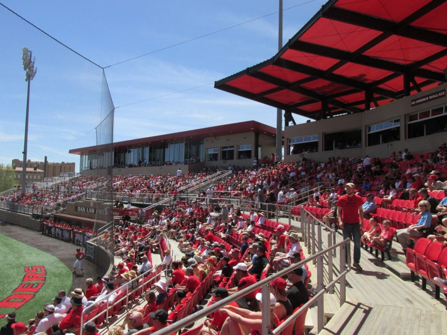 Rip Griffin Park, Fans Looking on