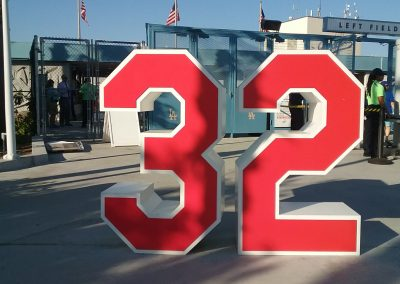 Sandy Koufax Retired Number