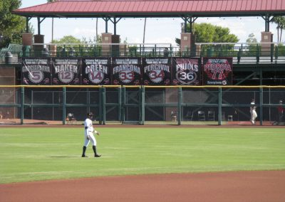 Scottsdale Stadium Retired Numbers