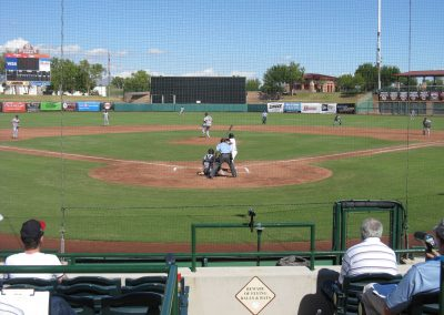 Scottsdale Stadium Homeplate View