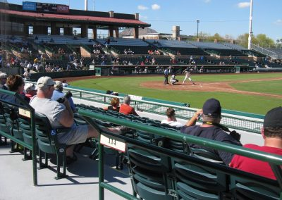 Scottsdale Stadium Grandstands
