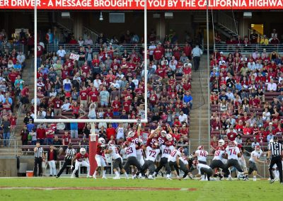 Stanford Stadium, End Zone Seating
