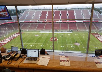 Stanford Stadium, View from Suite Level