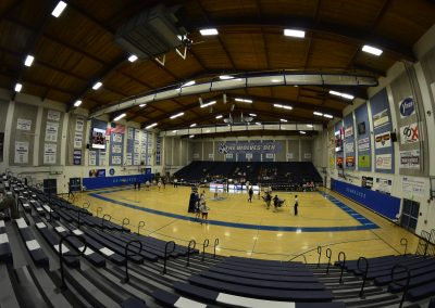 View from Bleachers at The Wolves Den