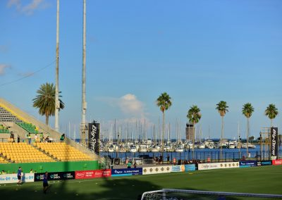 Al Lang Stadium, View of the Bay from Inside