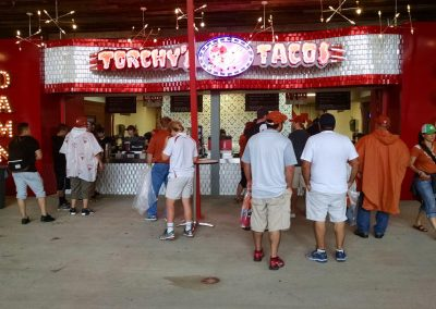 Concessions at Darrell K Royal - Texas Memorial Stadium