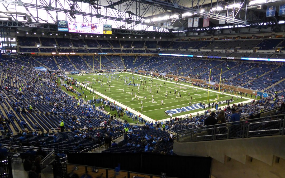 Video Review of Ford Field