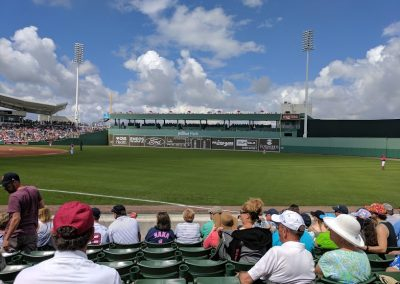 Replica Green Monster at JetBlue Park
