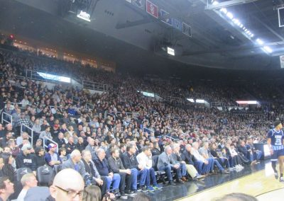 Capacity Crowd at Dunkin' Donuts Center