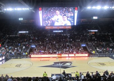 Center Court View at Dunkin' Donuts Center