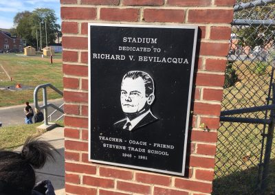 Stadium Dedication Plaque