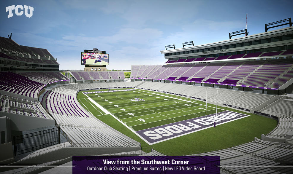 TCU to Add Premium Seating to Amon G. Carter Stadium
