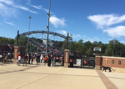 The Urbana Tigers Athletic Complex Entrance