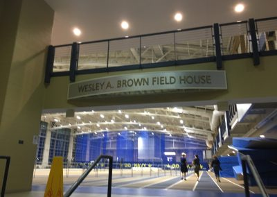 Wesley A. Brown Field House