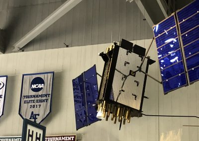 Air Force Hockey Global Positioning Satellite