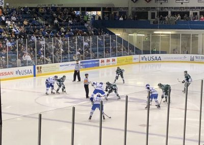 Air Force Hockey start of game