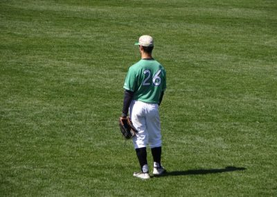 Appalachian Power Park, Marshall Thundering Herd in the Outfield