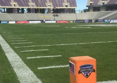Armed Forces Bowl at Amon G. Carter Stadium, End-to-End Field View