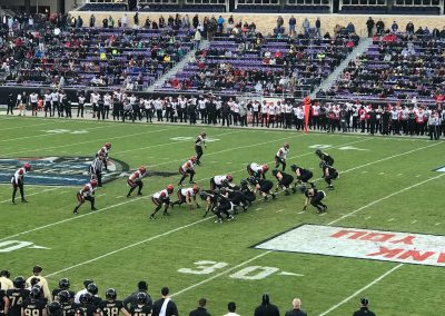 Armed Forces Bowl at Amon G. Carter Stadium, Game Action