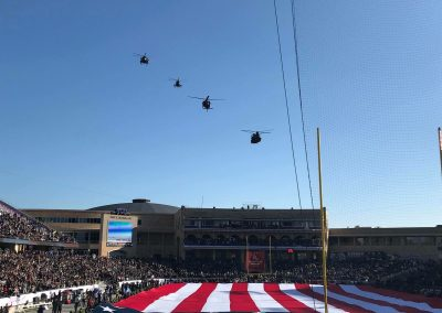Armed Forces Bowl at Amon G. Carter Stadium, Pre-game Flyover