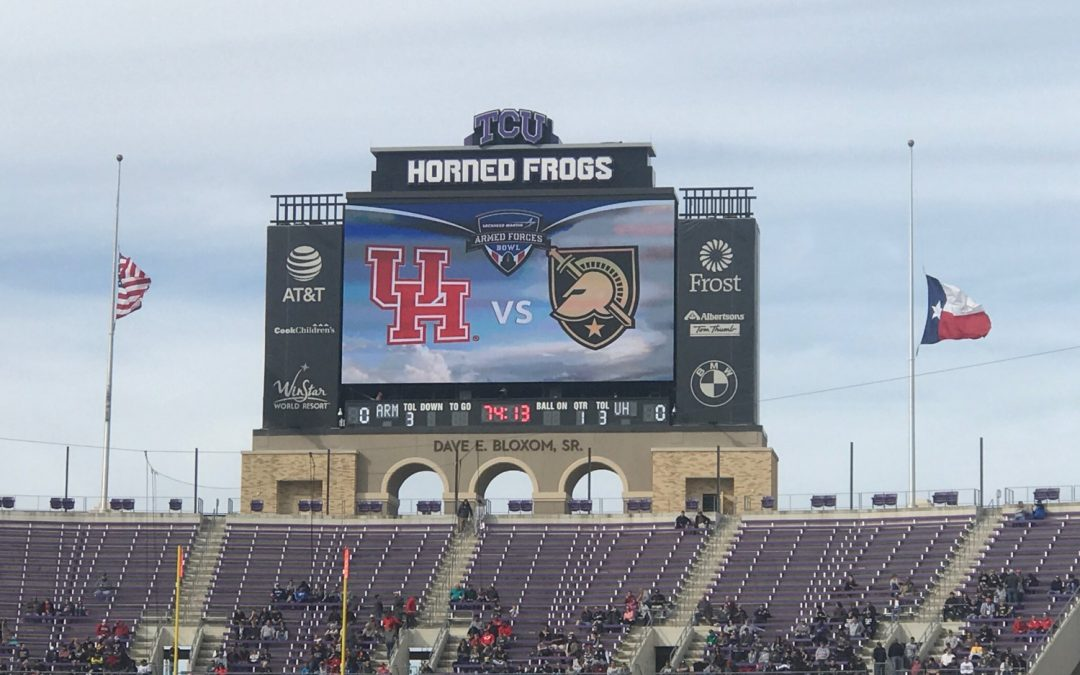Amon G. Carter Stadium – Armed Forces Bowl