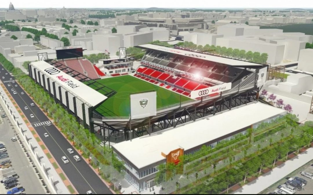 DC United to Open Audi Field on July 14 Leading Into MLB All-Star Week