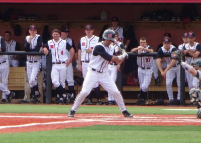 Bainton Field, Rutgers Scarlet Knights Check their Swing