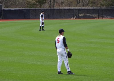 Bainton Field, Rutgers Scarlet Knights in the Outfield
