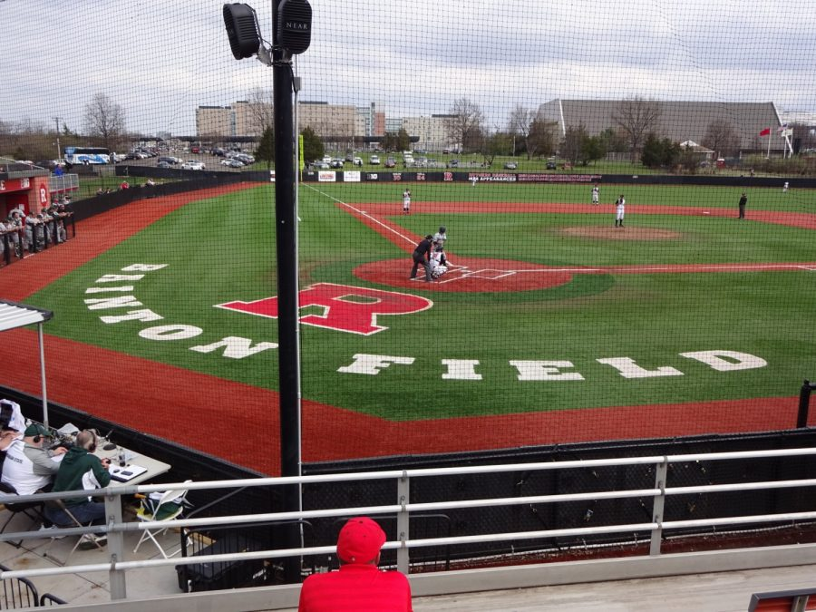 Bainton Field, View from Behind Home Plate