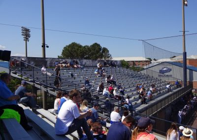 Bud Metheny Baseball Complex Grandstand Seating
