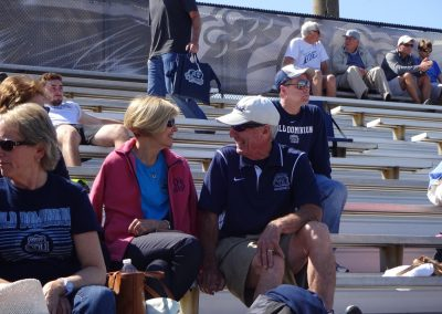 Bud Metheny Baseball Complex, Old Dominion Monarchs Fans Enjoying the Game