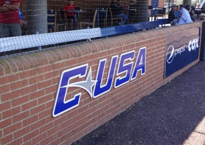 Bud Metheny Baseball Complex, Table Seating Under the Stands