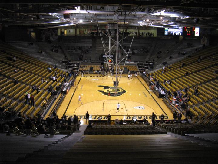 Coors Event Center Interior