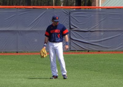 Eugene B. Depew Field, Bucknell Bison in the Outfield