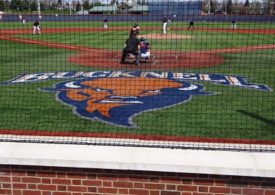 Eugene B. Depew Field, View from Behind Home Plate