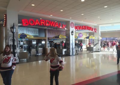 Prudential Center Boardwalk Concession Stands