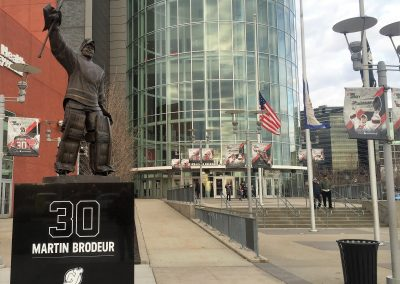 Prudential Center Brodeur Statue,